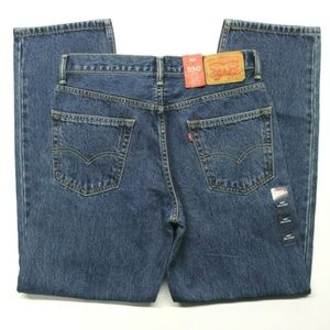 Levi's 550 Relaxed Fit Jeans (005504886) 36x32
